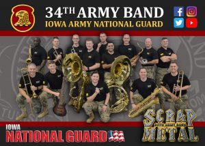34th Army Band Scrap Metal